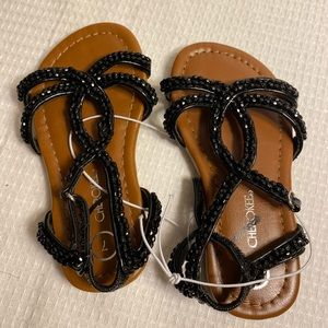 NWT✨ Toddler Girl's Beaded Sandals